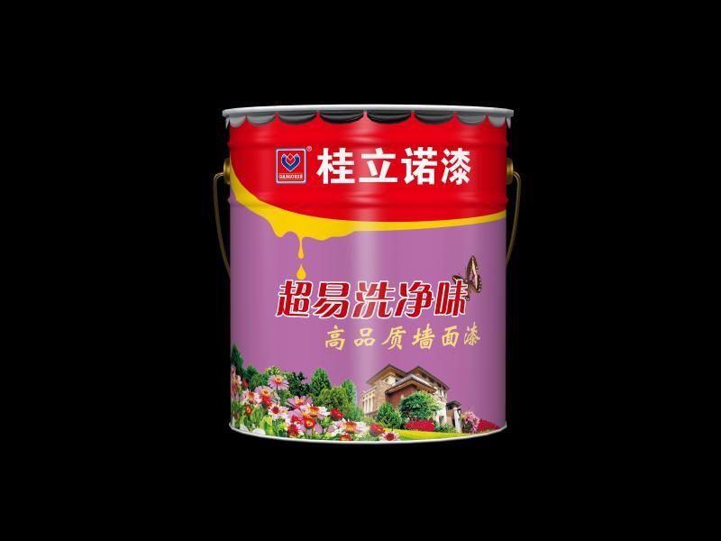 超易洗净味高品质墙面漆